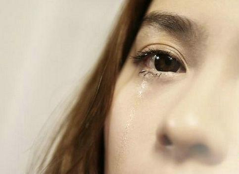 qq头像仰头流泪