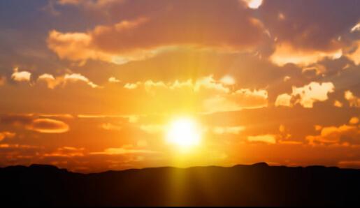 描写早晨太阳的句子