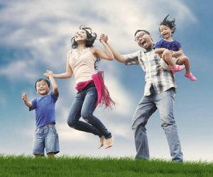 幸福家庭的句子及图片