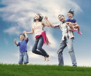 描写幸福家庭的句子及图片