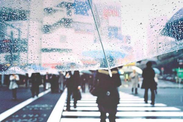 描写雨天的句子带图片