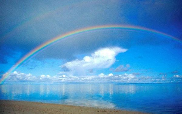 描写彩虹的句子及图片