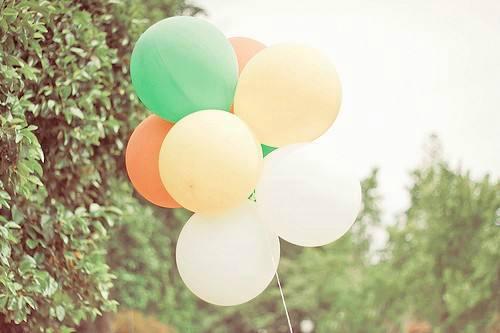 7张唯美气球图片及唯美句子