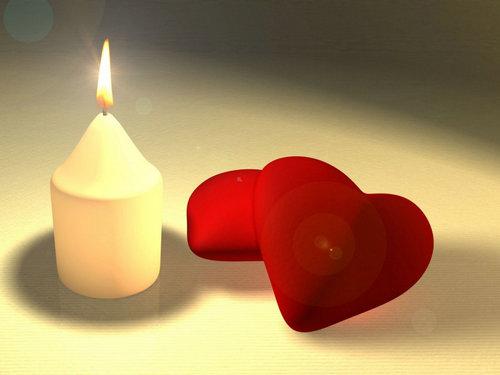 有关于形容描写蜡烛的句子及图片