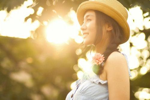 阳光明媚的图片