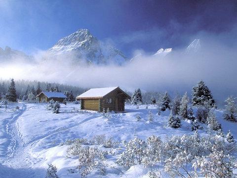 描写雪景的句子及图片
