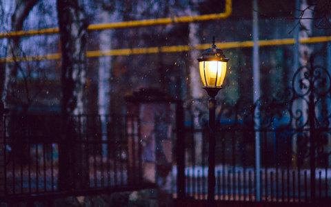 关于路灯的唯美句子及图片