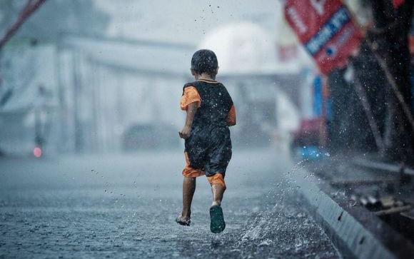 雨天的心情说说励志