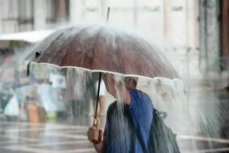 有关下雨的说说唯美句子带图片【