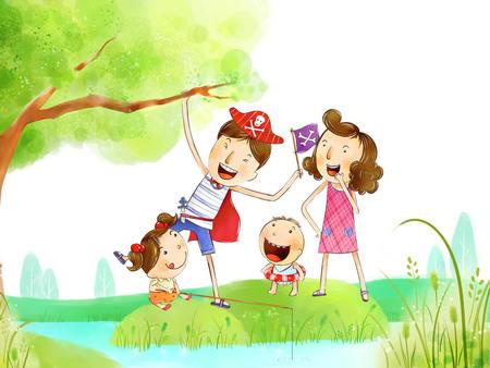 形容家庭幸福的句子:幸福的家庭