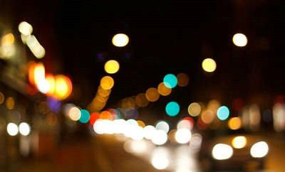 写夜景灯光唯美的句子带图片