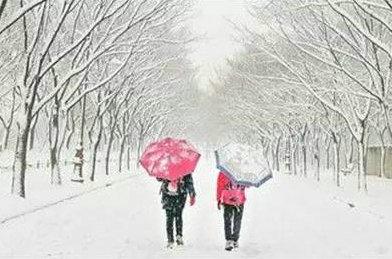 朋友圈下雪说说带图片