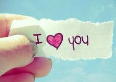向爱人表达爱意的句子:希望我的