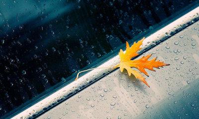 描写雨天忧伤的句子