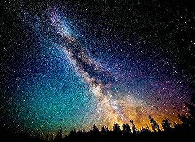 星空意境的唯美句子图片