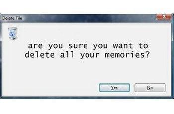 我想删除记忆的句子