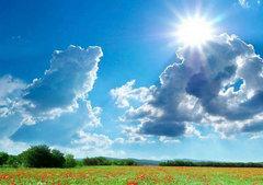 天空蔚蓝好蓝唯美句子