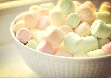 糖果的温暖句子