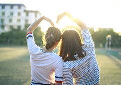 关于友情的句子和图片:陈酒味醇