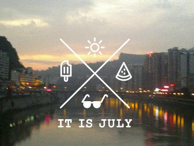 七月你好的说说、句子及图片