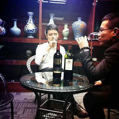 品红酒感悟人生的句子