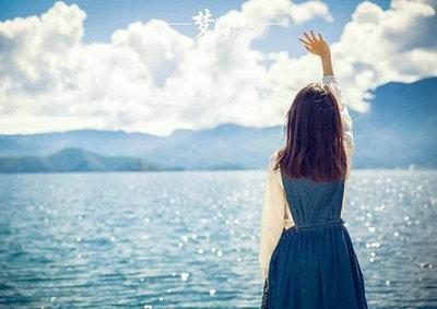 面朝大海的心情说说,面朝大海的唯美句子