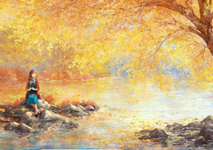 秋天文艺句子:秋天到了,一切光