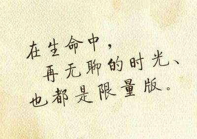 具有哲理的句子语段
