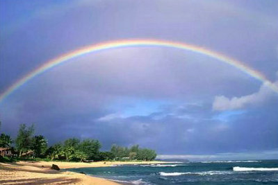 风雨之后见彩虹的句子