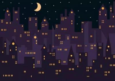 深沉的夜幕,只因你的到来,瞬间绽放出万千的星光